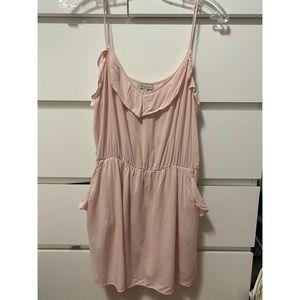 Aritizia soft pink dress